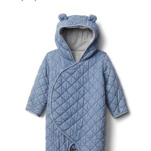 Baby Gap quilted one piece.